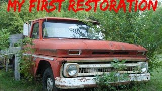 Tinman's First Restoration: 1965 chevy c10