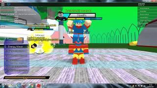 Playing dragon ball super 2 [Roblox]