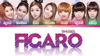 9MUSES (나인뮤지스) - 'Figaro' Sub Español (Color Coded_HAN_ROM_E…