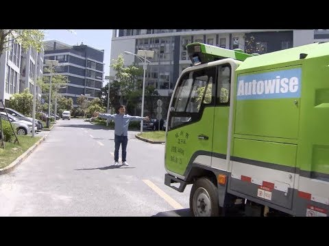 Driverless Street Sweepers Put Into Limited Use in Shanghai