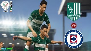 PES 2018 | Zacatepec vs Cruz Azul | Jornada 2 Copa Mx | Gameplay PC