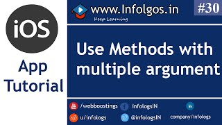 How to Use Methods with Multiple Arguments in Objective C - Tutorial 28