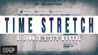 Presonus Studio One V4 Beginner Time Stretch Tutorial