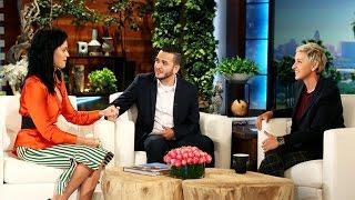 Katy Perry Surprises Orlando Shooting Survivor