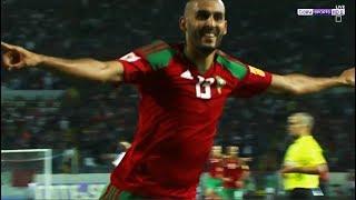 ملخص واهداف مباراة المغرب والغابون (3-0) [شاشة كاملة] - تعليق جواد بدة
