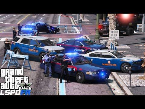 GTA 5 LSPDFR Police Mod 356  Atlanta Themed Police Dept & Georgia State Patrol Takes Over Los Santos