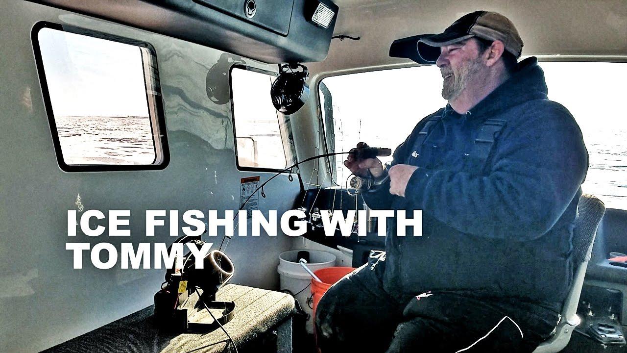 Devils lake ice fishing report tips 1 7 17 youtube for Devils lake ice fishing reports