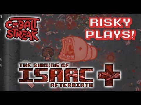 Afterbirth+ Unlocks #65 - Risky Plays - Cobalt Streak