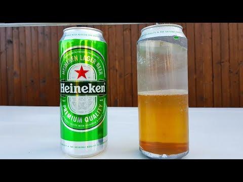 The SECRET Of Aluminum Beer Cans. HIDDEN Plastic Cover Inside !
