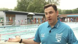 SwimBritain launch at London Fields Lido
