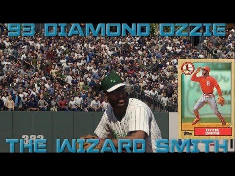 WE GOT THE WIZARD! 93 OZZIE SMITH DEBUT! WTF GLITCH!!!  MLB THE SHOW 16 DIAMOND DYNASTY GAMEPLAYS