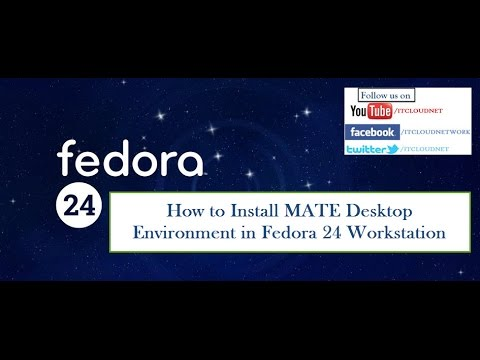 How to Install MATE Desktop Environment in Fedora 24 Workstation