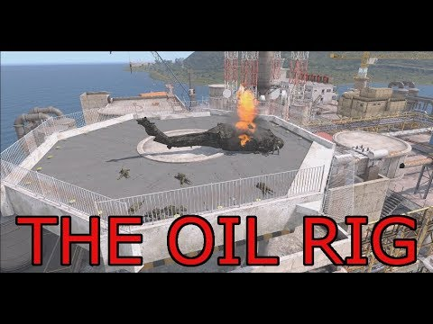 The Oil Rig: Arma 3 Zeus POV British Commando Ops