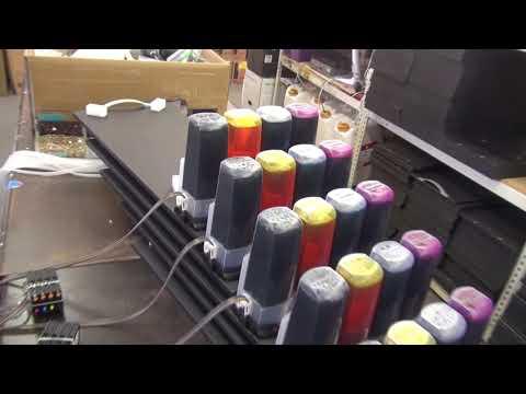 (프린터온)p-ciss 공급기 석션영상
