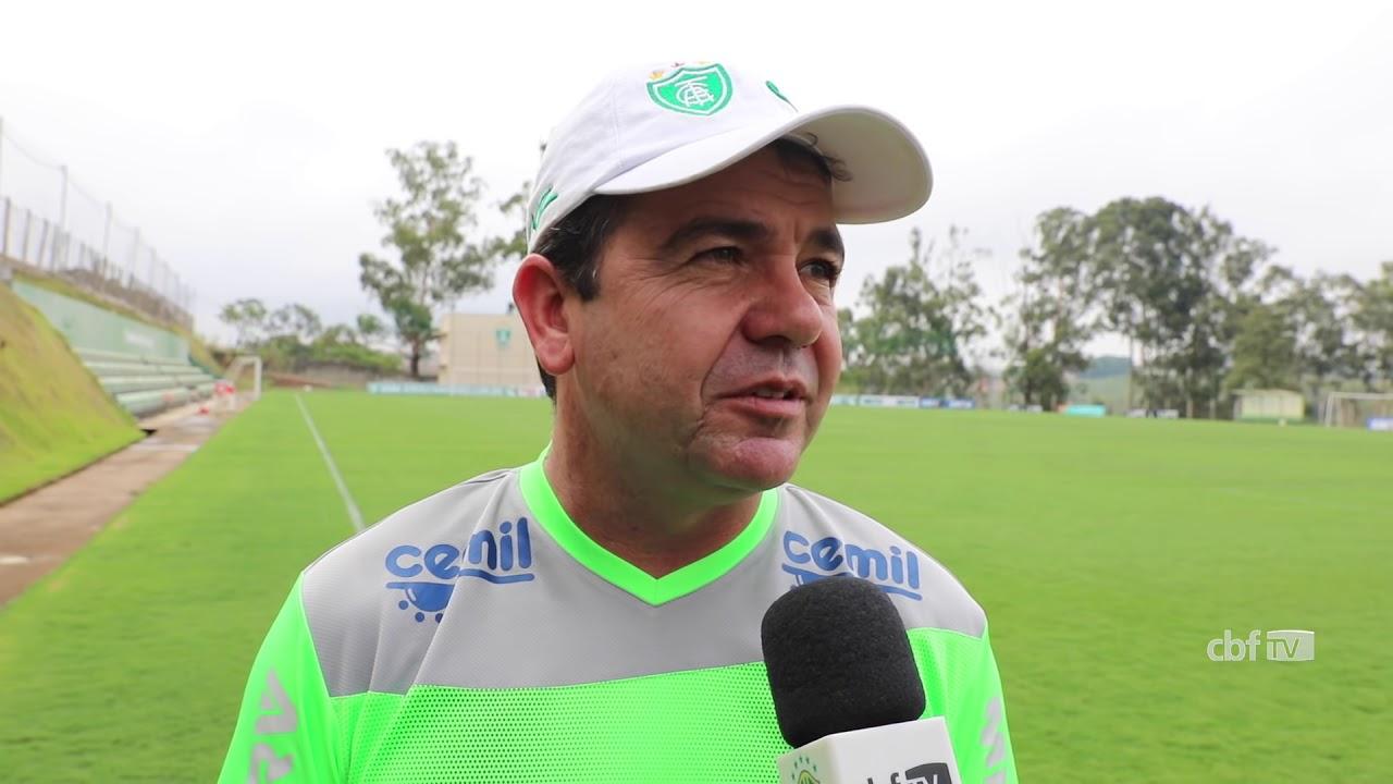 Brasileirão Série B 2017: Técnico do América-MG, Enderson Moreira analisa temporada