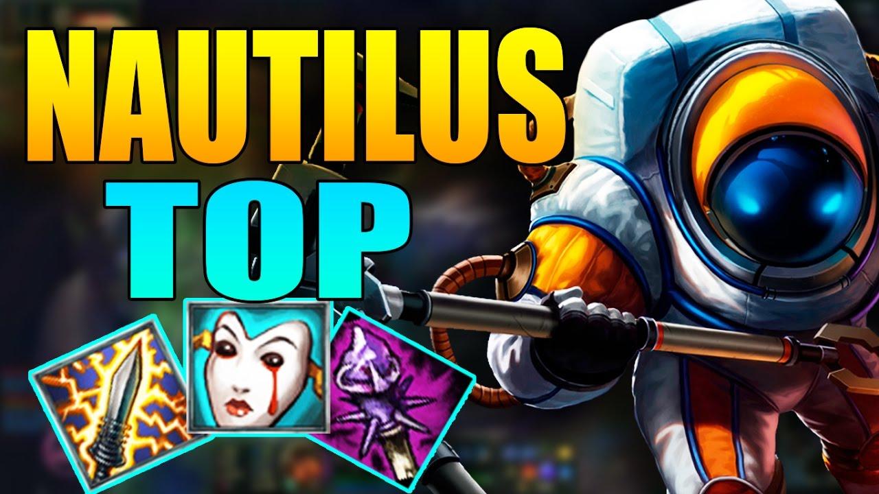 Nautilus TOP | Chơi Lầy Nautilus Lên Dao Điện + FULL AP | Cách chơi và lên đồ | LMHT