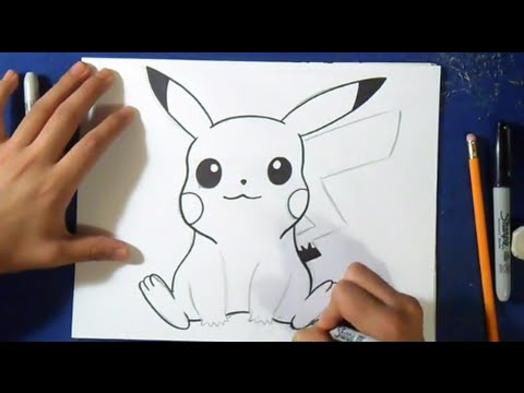 Comment dessiner pikachu tutoriel - Comment dessiner un tournesol ...