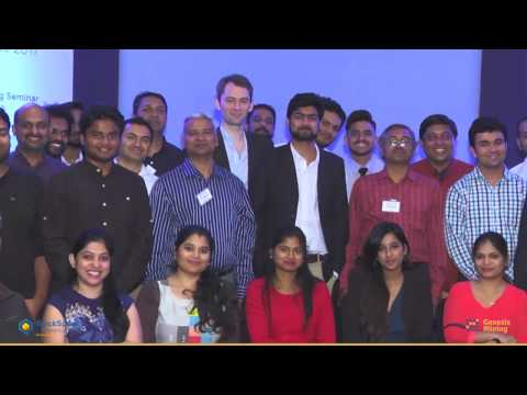 Genesis Mining BlockSpeak Conference Mumbai & Bangalore 2017