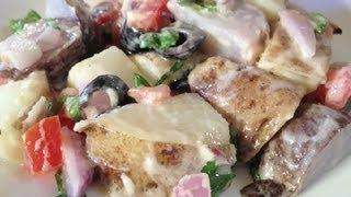 Low-fat Caesar Potato Salad : Potato Salads