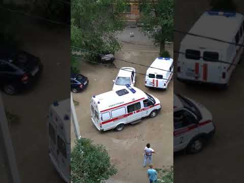 Пожар в городе Новотроицк 4 июля