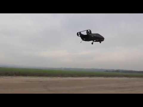 Cormorant UAV Flight Test, March 2017 (including autonomous landing on a marker)