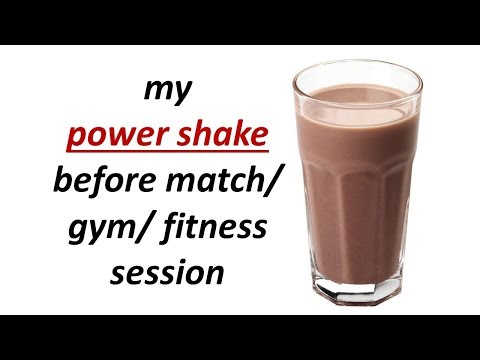 My Power Shake -before Match/gym/ Fitness Session