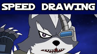 Speed Drawing - Wolf O