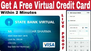 How To A Get Free Virtual Credit Card