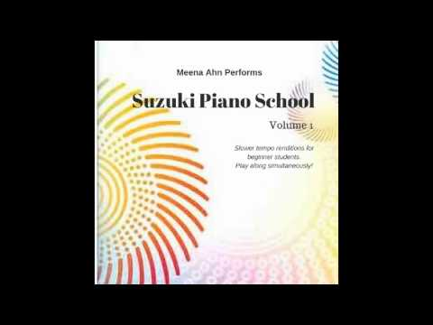 6. French Children's song Suzuki Piano book 1