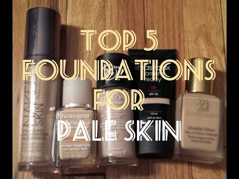 My Top 5 Foundations for Pale/Fair Skin
