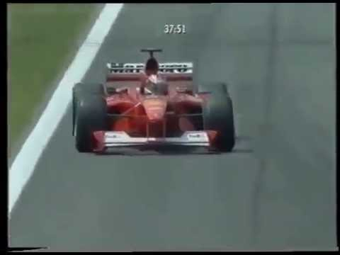 Michael Schumacher All Qualifying Laps - Spain Grand Prix (2000) - F1