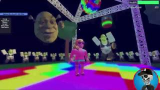 Roblox Shrek Dance Party (en anglais)
