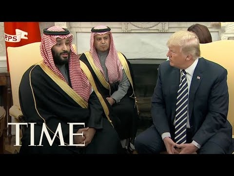 Download Youtube: President Donald Trump Welcomes Saudi Crown Prince Mohammed Bin Salman At The White House | TIME
