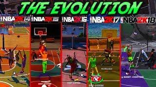 THE EVOLUTION of MyPlayer Cheese   NBA 2K17, NBA 2K16, NBA 2K15, NBA 2K14
