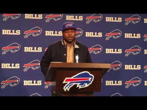 Buffalo Bills introduce Mike Tolbert, Micah Hyde (3/10/17)