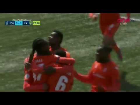 Forge FC's 1st Goal Ever