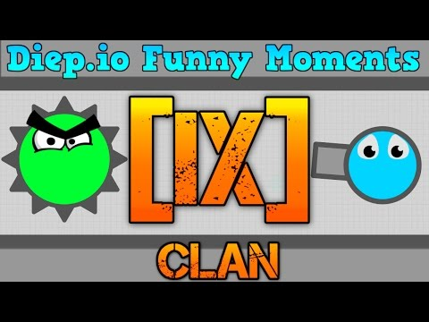 HATER JOINS THE iX CLAN!! // Diep.io Funny Moments // Maze Gameplay