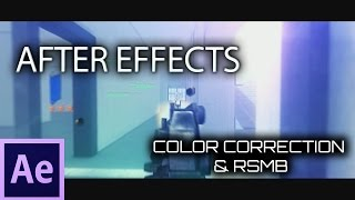 After Effects Tutorial: Color Correction & RSMB