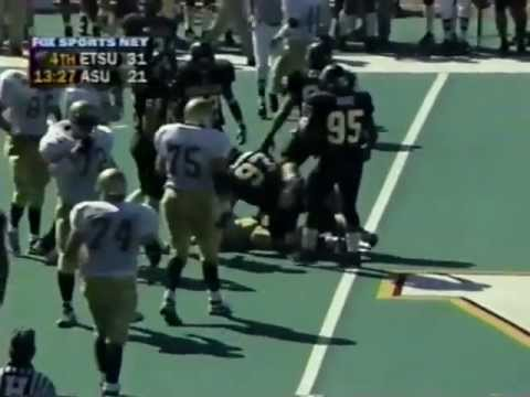 ETSU vs Appalachian State Football Game from 1997