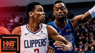 Dallas Mavericks vs LA Clippers Full Game Highlights | 01/22/2019 NBA Season