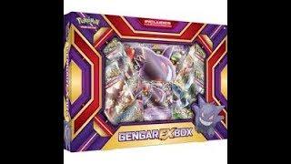 Pokemon collectors box and gengar box