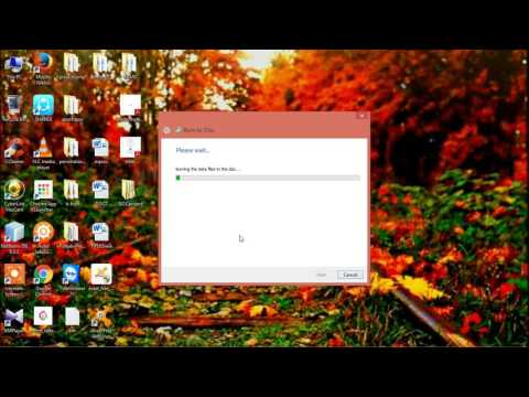 HOW TO BURN CD AND DVD IN WINDOWS 8 & WINDOWS 8.1