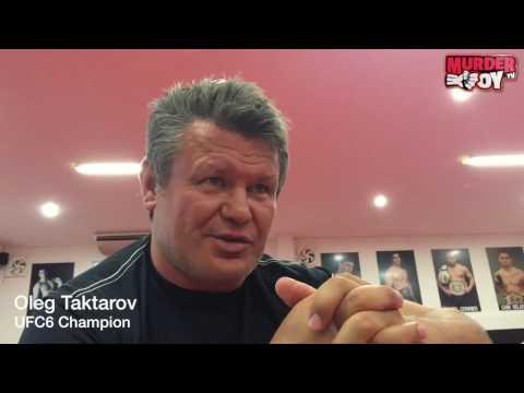 Oleg Taktarov: философия MMA