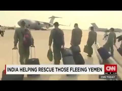 "CNN has covered India's successful Yemen rescue operation ""Operation Raahat"""