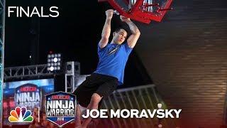 Joe Moravsky at the Minneapolis City Finals - American Ninja Warrior 2018