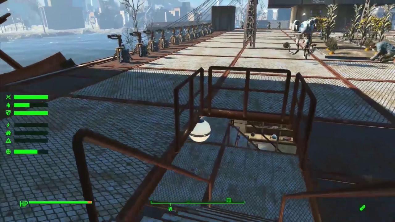 Fallout 4 Settlements - Boston Airport