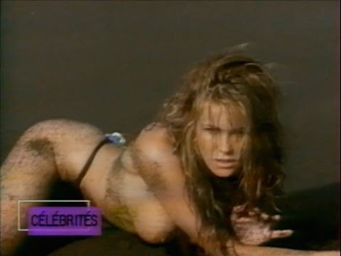 Elle Macpherson Australian supermodel  and report on french TV in 90's