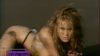 Elle Macpherson Australian supermodel interview and report on french TV in 90's マクファーソン 検索動画 13
