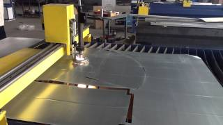 CNC Plasma Cutter with Duct-Cam HVAC Program.