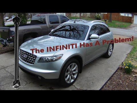 How To Replace the Front Propeller/Driveshaft on an Infiniti FX35